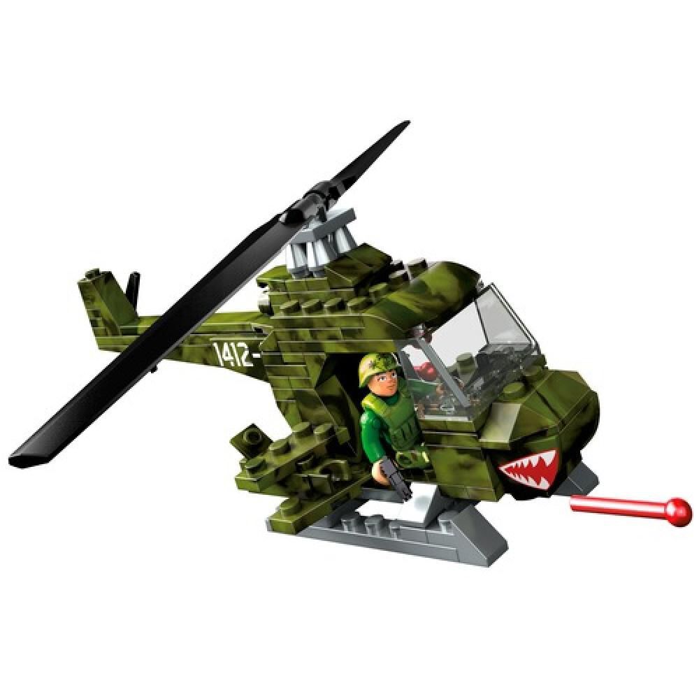 Helicoptero Megabloks Helicoptero Militar Armable image number 1.0