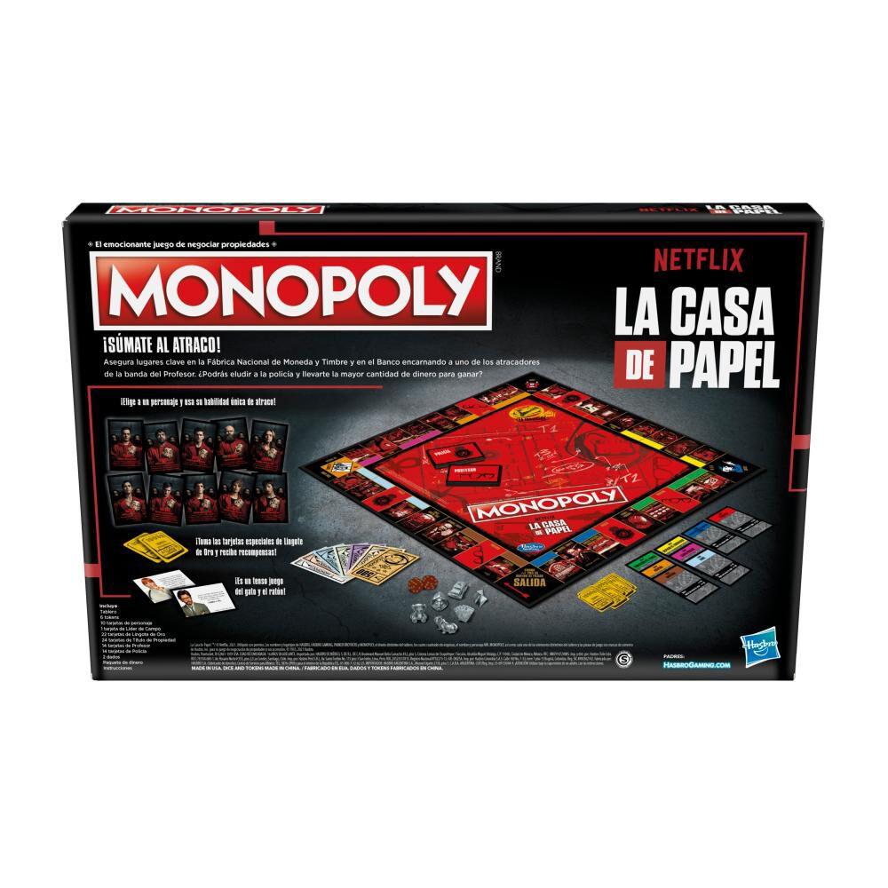 Juego De Mesa Monopoly La Casa De Papel image number 3.0