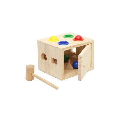 Juguete De Madera Baby Way Cajita Para Martillar Bw-Jm16