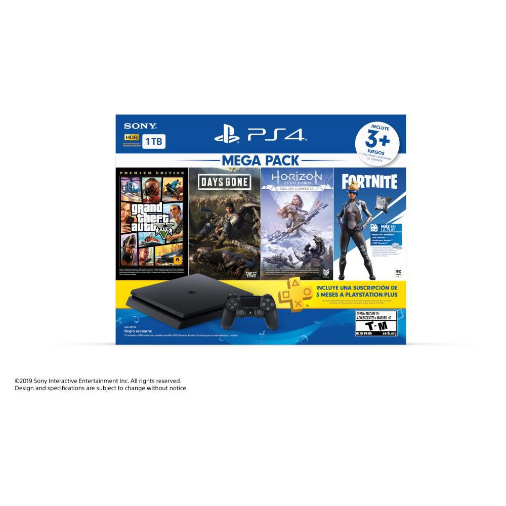 Consola PS4 Sony Mega Pack image number 2.0