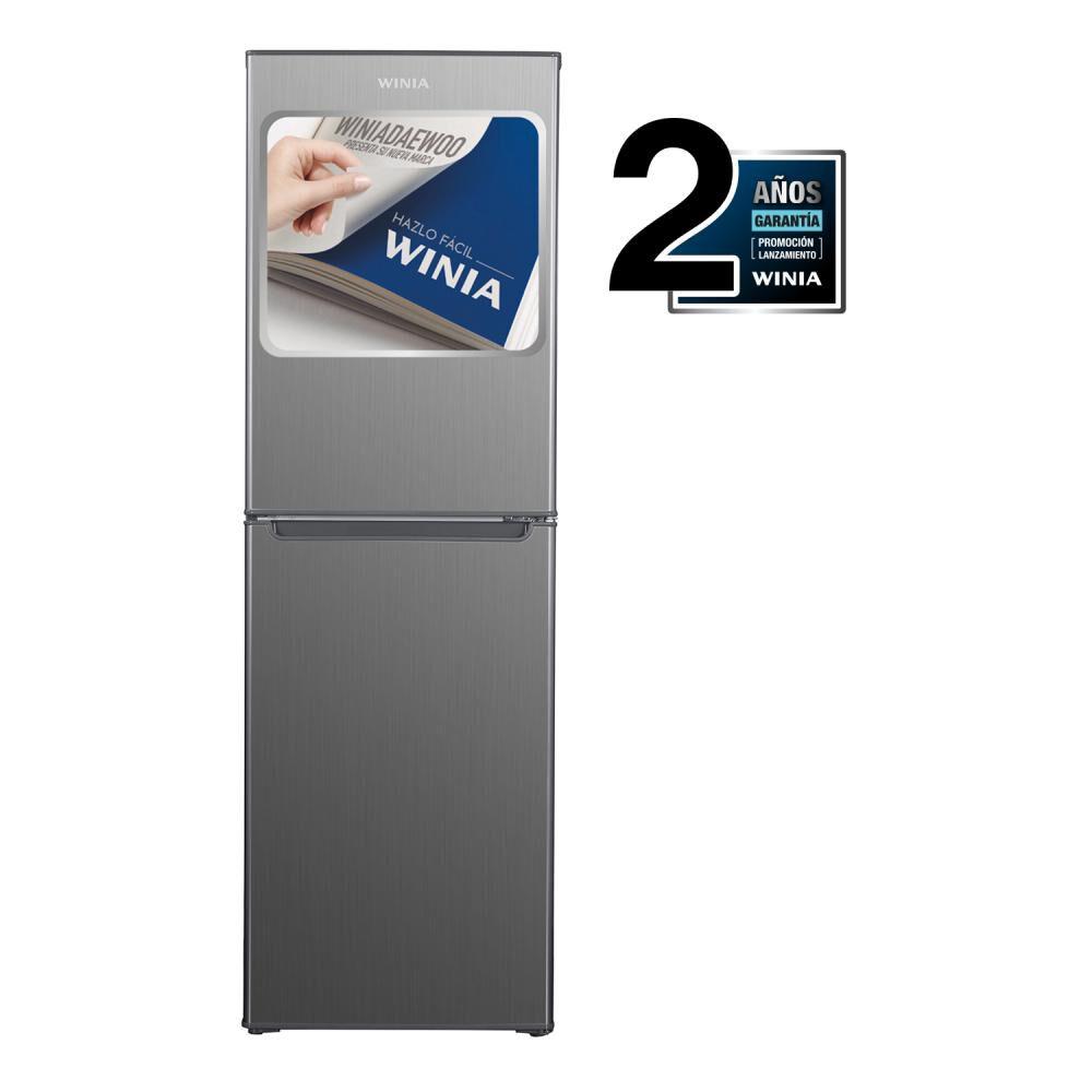 Refrigerador Winia Frío Directo, Bottom Freezer Rfd-344h 242 Litros image number 0.0