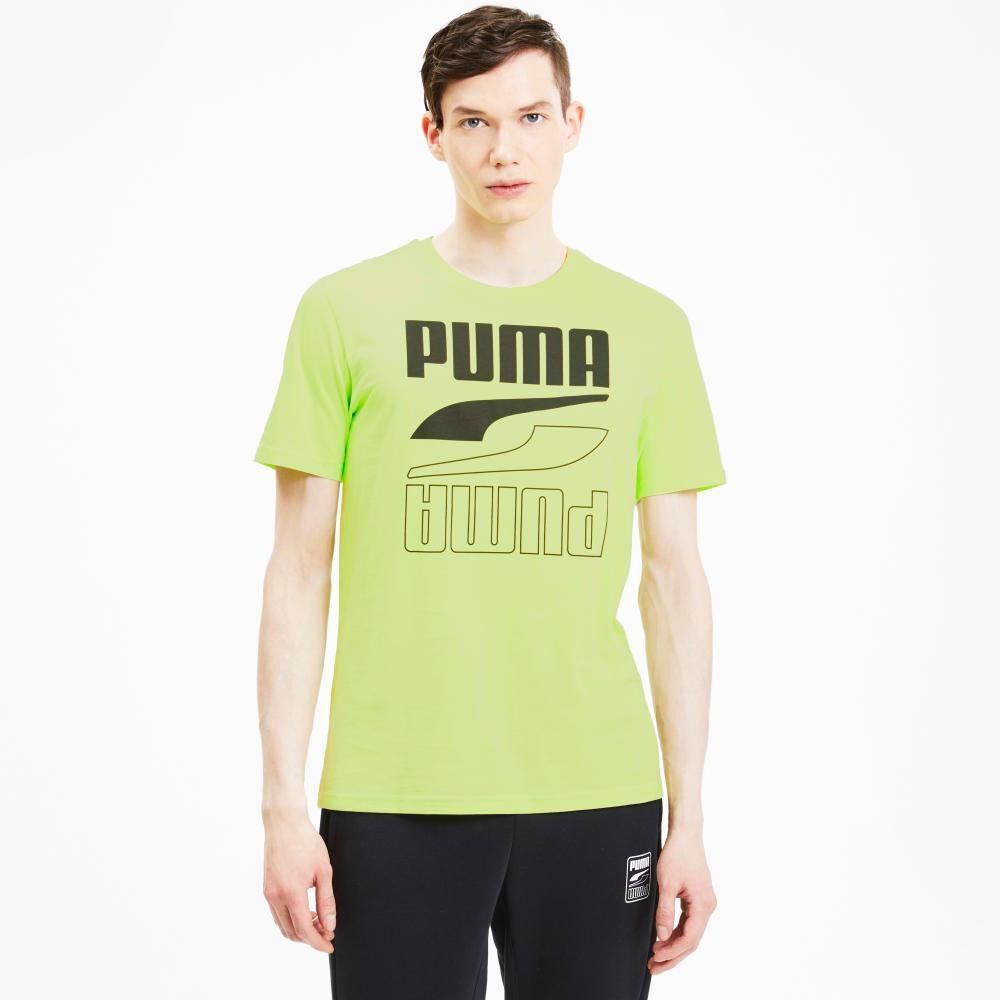 Polera Hombre Puma Rebel Tee image number 2.0