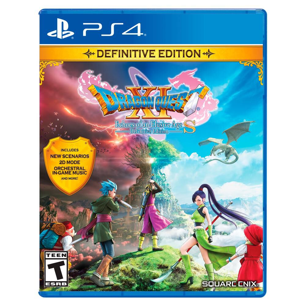 Videojuego Sony Dragon Quest Xi: Echoes Of An Elusive Age image number 0.0