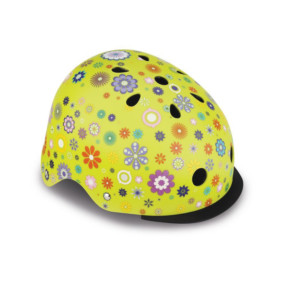 Casco Globber Helmet Elite Lights Lime Xs/S image number 0.0