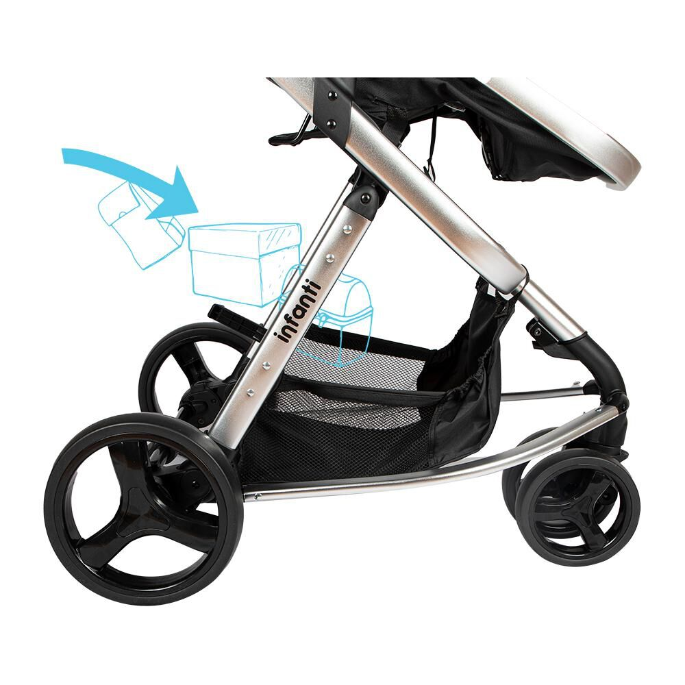 Coche Travel System Infanti Mobi Ts image number 6.0