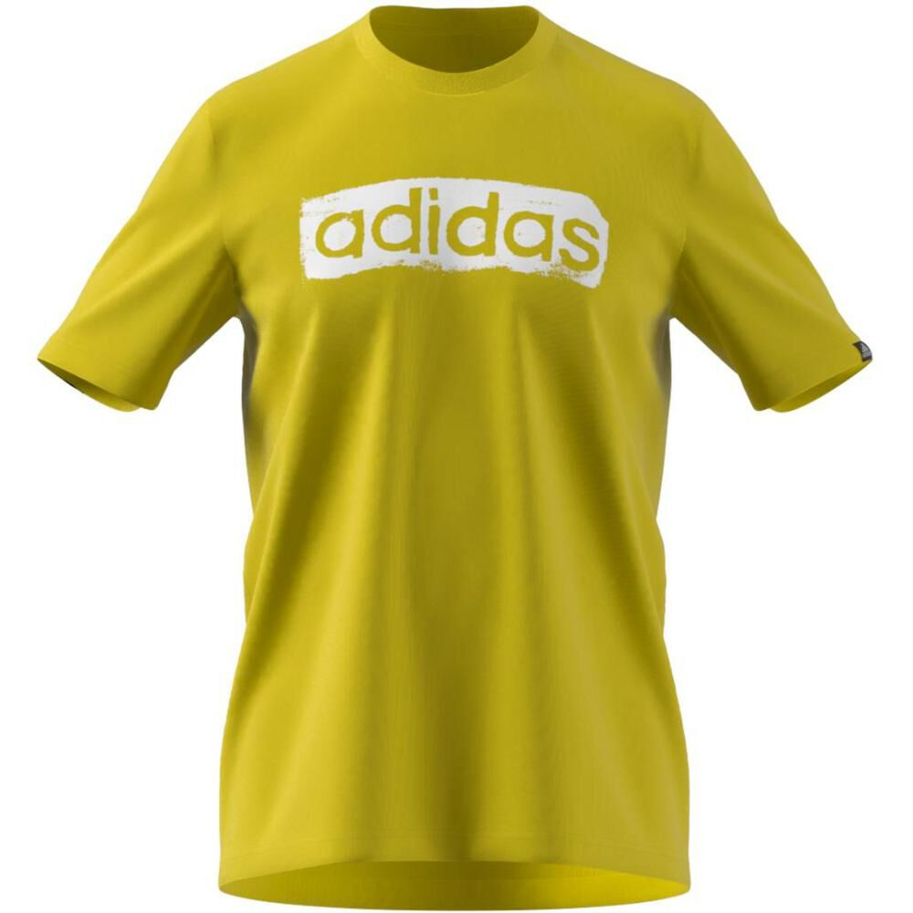 Polera Hombre Adidas Men Brushstroke V4 Tee image number 5.0