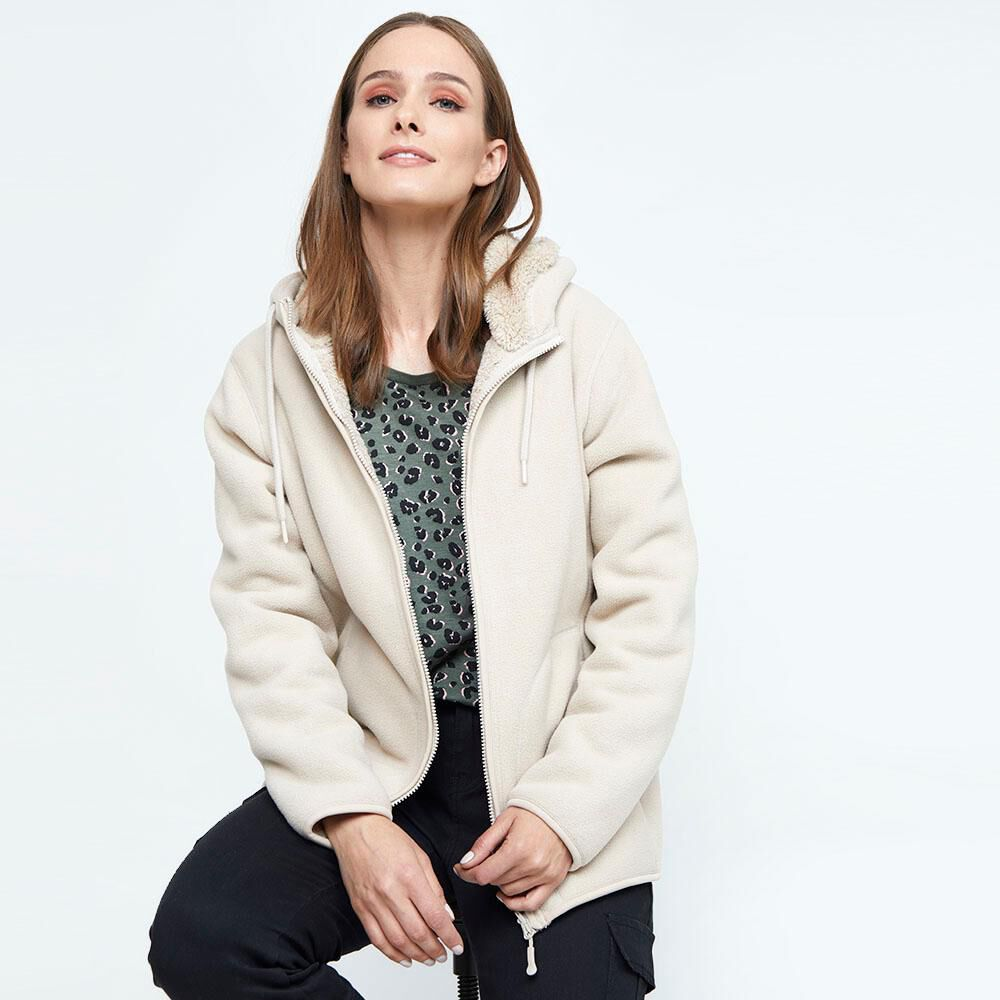 Chaqueta Reversible Mujer Geeps image number 4.0