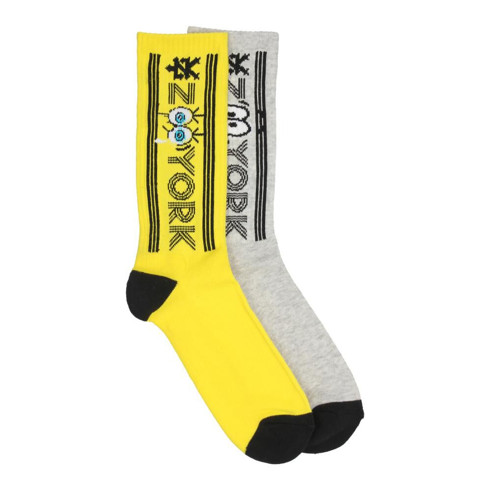 Pack Calcetines Unisex Zoo York / 2 Pares image number 1.0