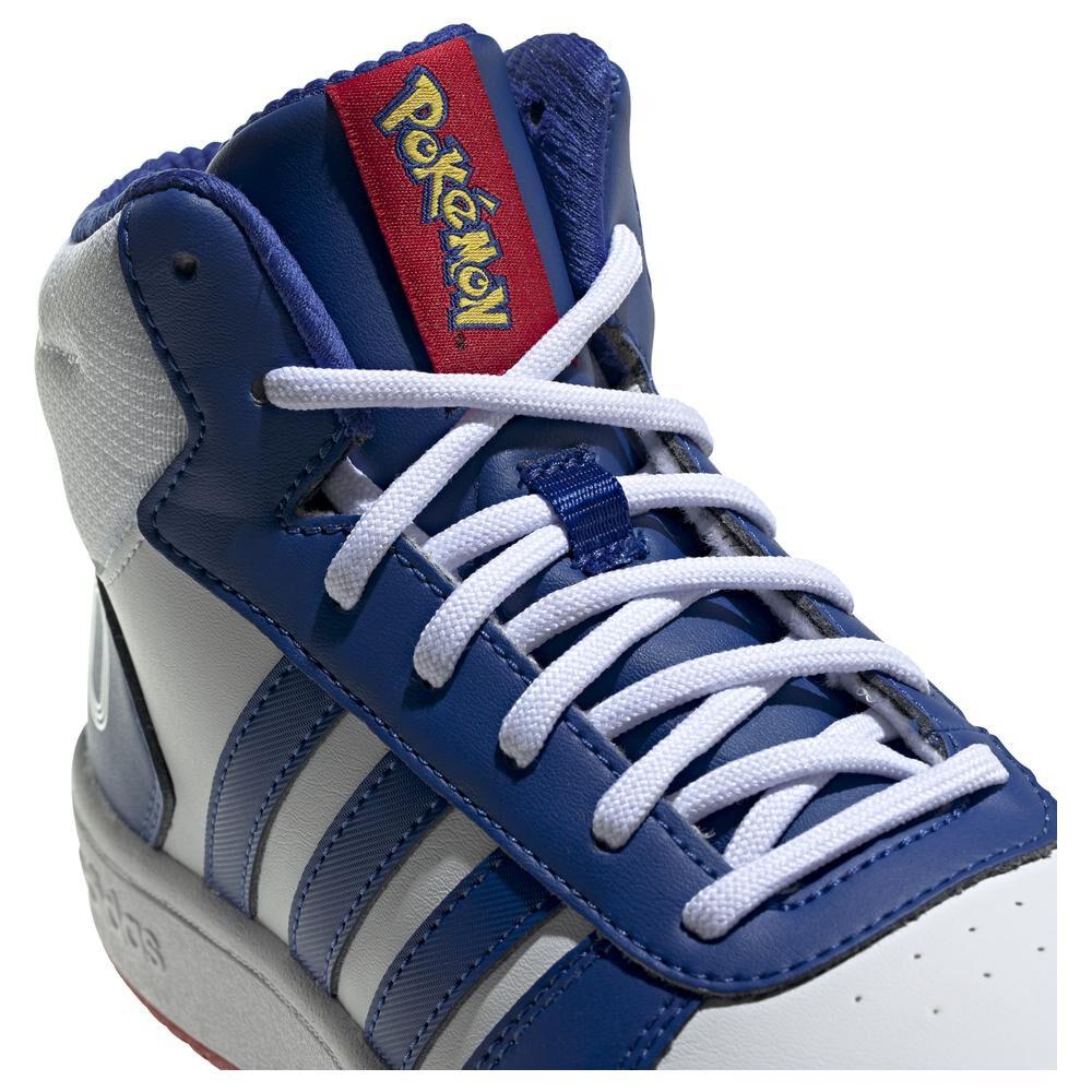 Zapatilla Juvenil Unisex Adidas Hoops Mid 2.0 K image number 1.0