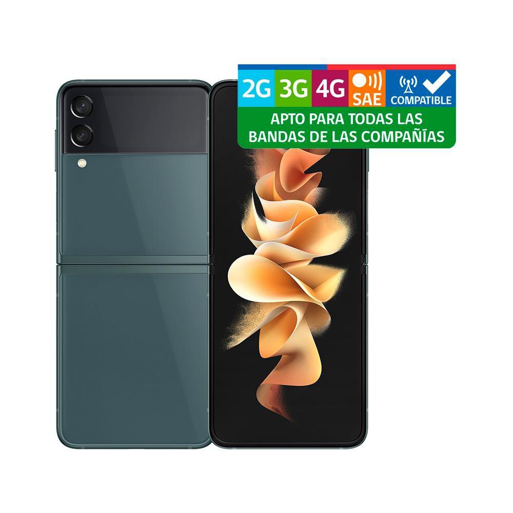 Smartphone Samsung Galaxy Z Flip 3 Verde / 128 Gb / Liberado image number 9.0