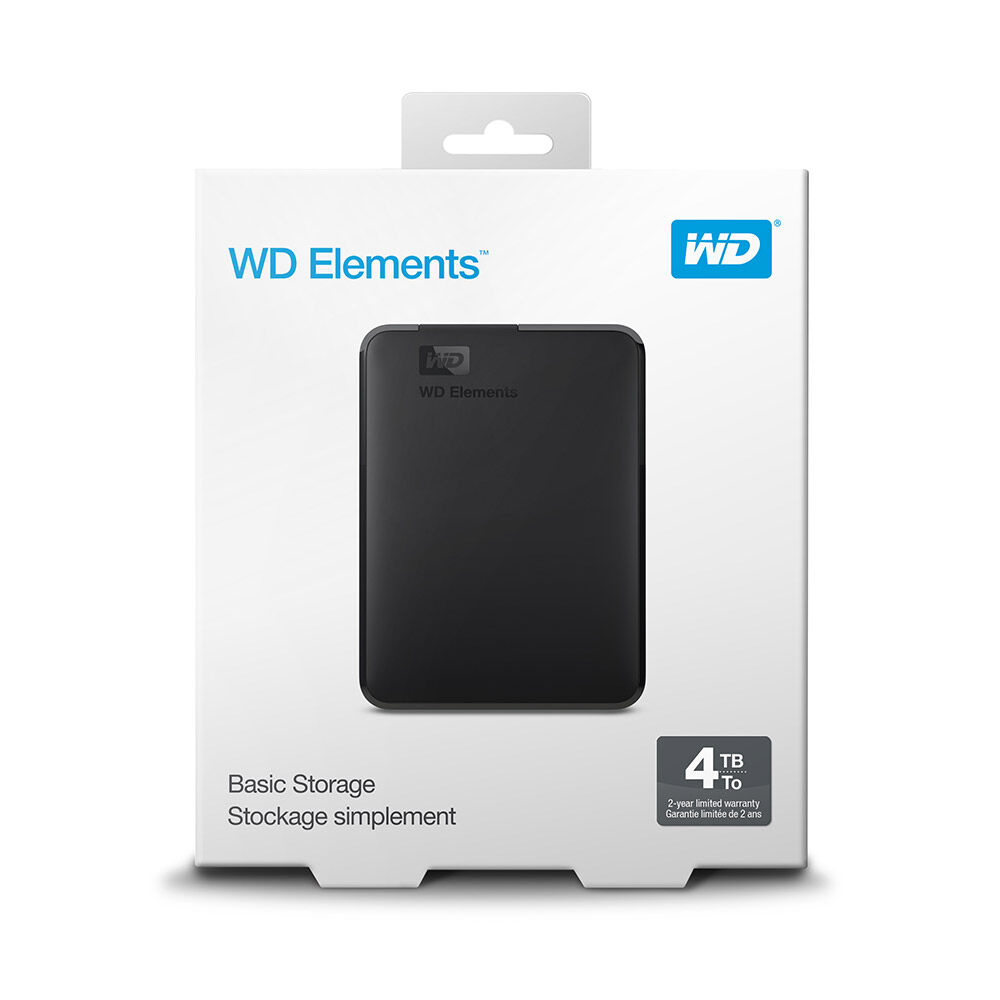Disco Duro Externo Wd Elements / 4 TB image number 2.0