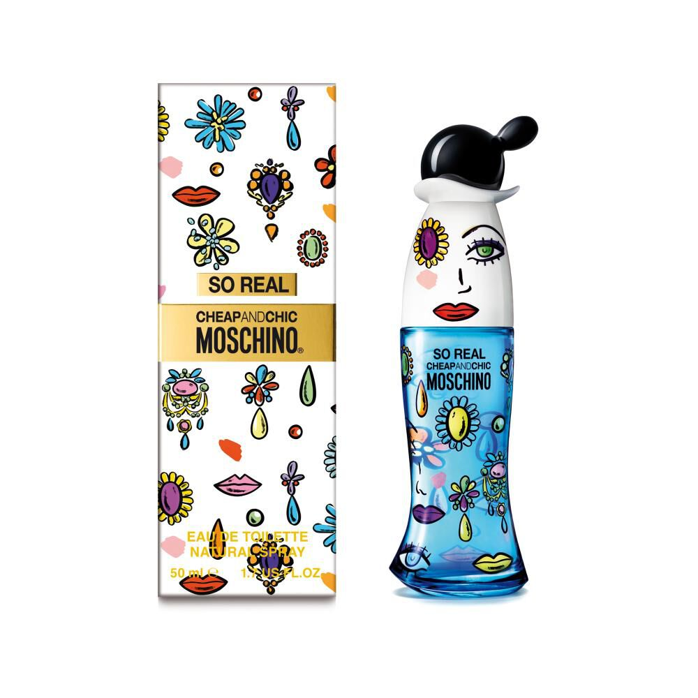 Perfume So Real Moschino / 50 Ml / Edt image number 0.0