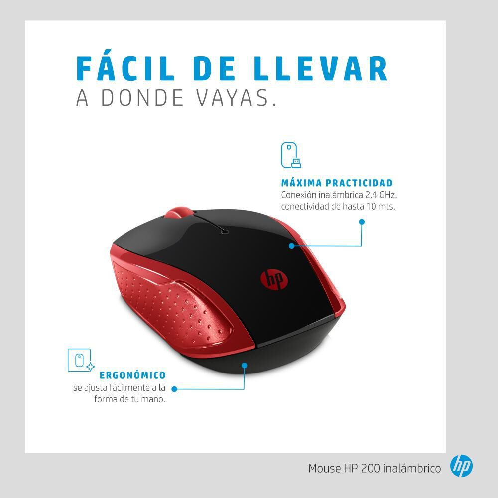 Mouse Hp 200 image number 6.0