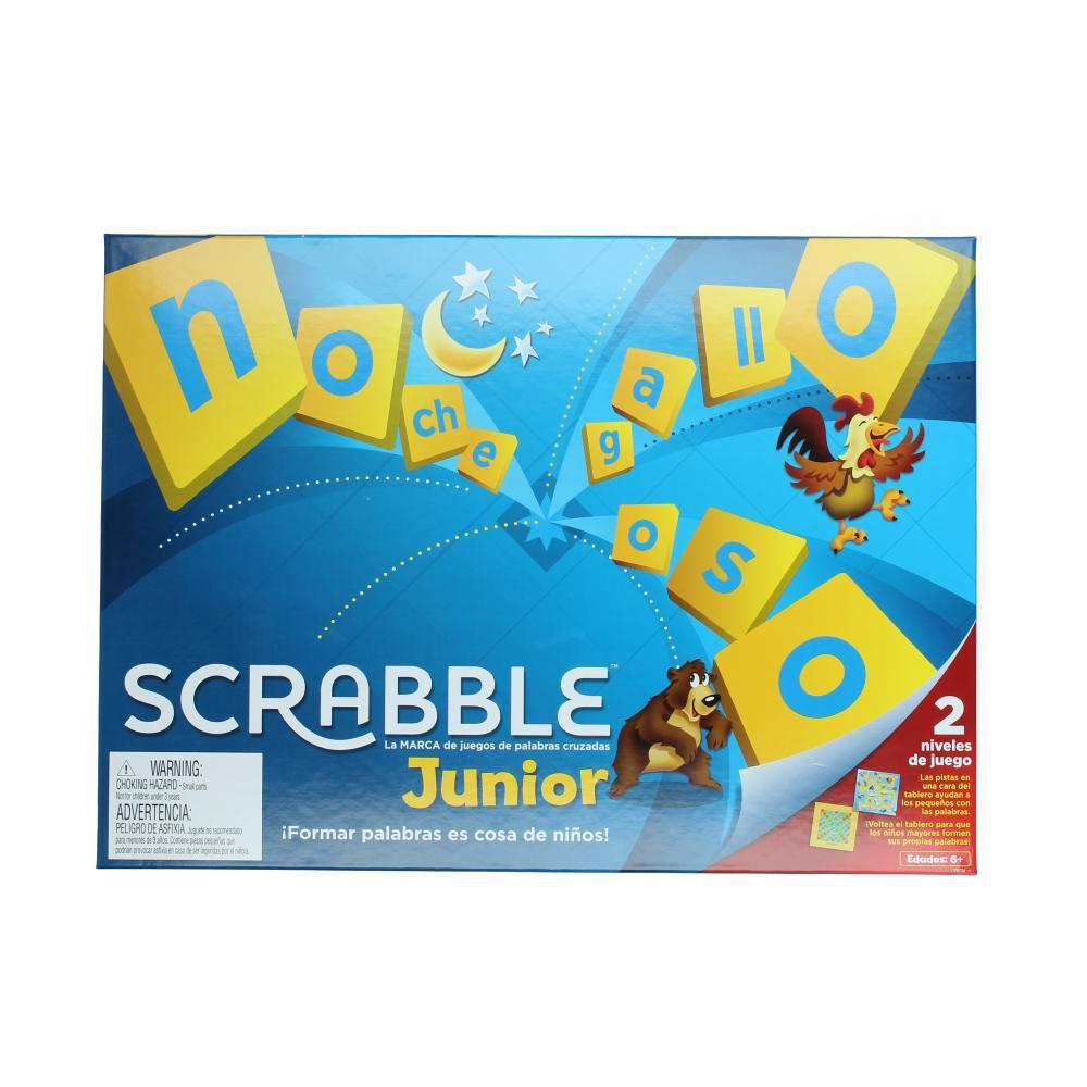 Juego Didactico Scrabble Junior image number 0.0