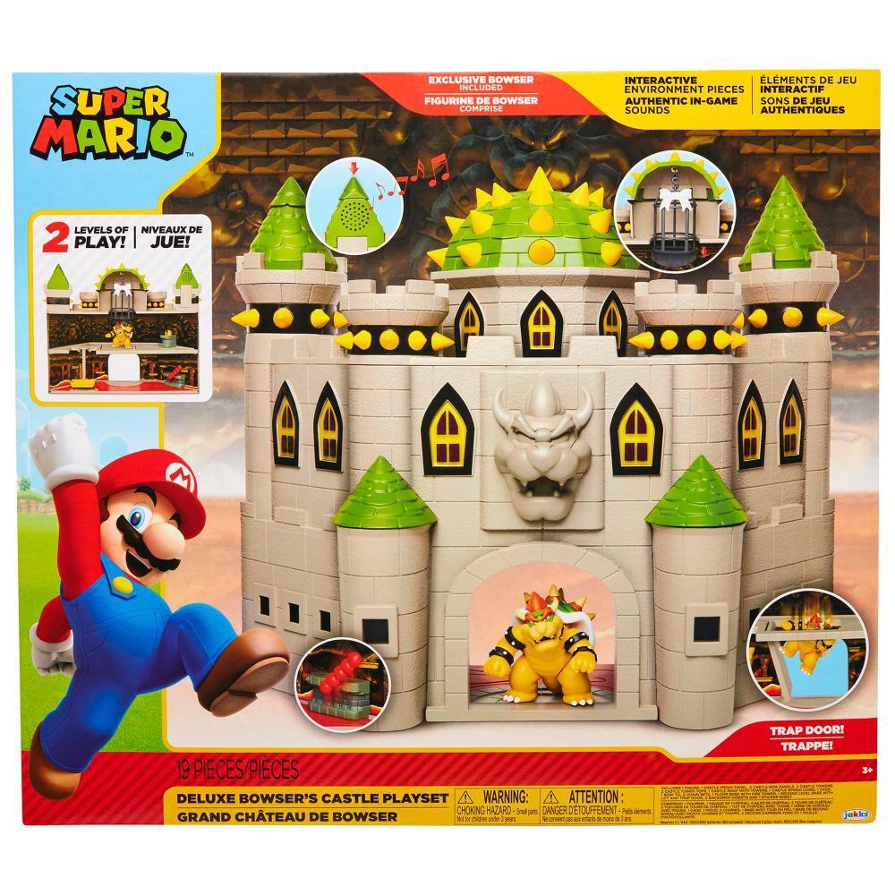 Set De Juguetes Nintendo Super Mario Castillo Bowser image number 0.0
