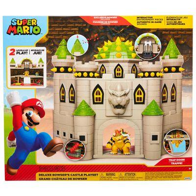 Set De Juguetes Nintendo Super Mario Castillo Bowser