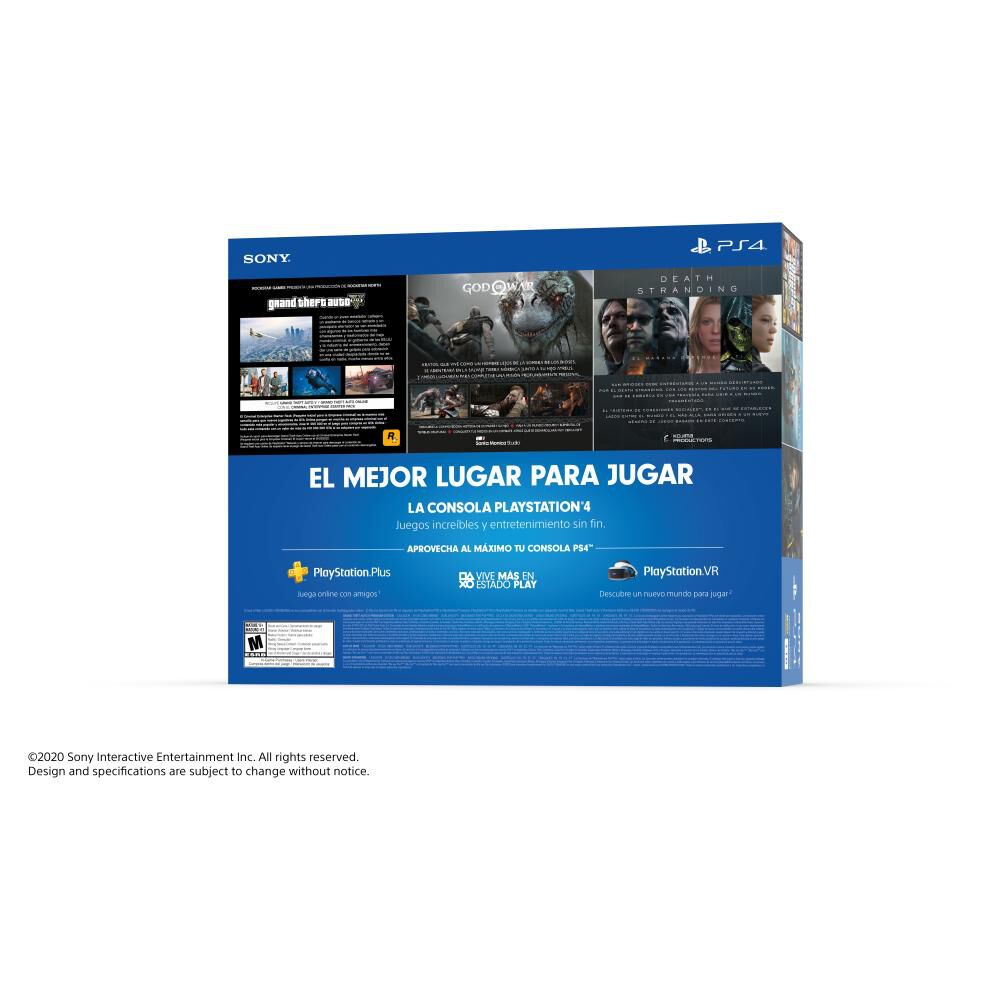 Mega Pack 13 Sony Ps4 Slim 1 TB image number 3.0