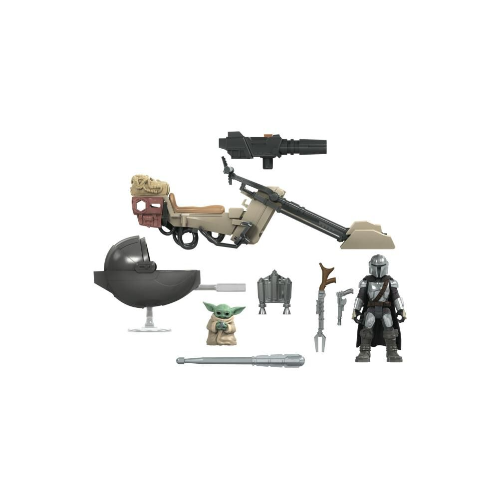 Figura Star Wars Mission Fleet Expedition Class The Mandalorian The Child Battle For The Bounty image number 3.0