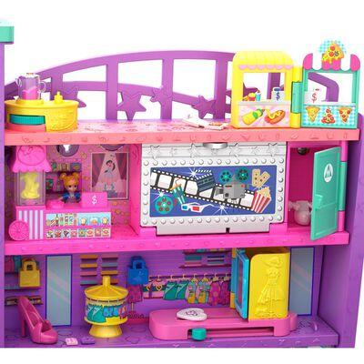 Mini Muñeca Polly Pocket Mega Centro Comercial
