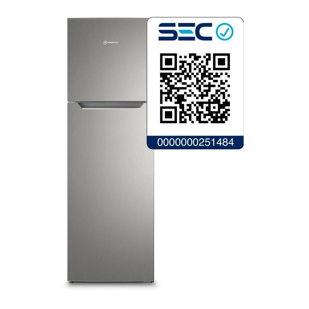 Refrigerador Top Freezer Mademsa Altus 1250 / No Frost / 251 Litros image number 4.0