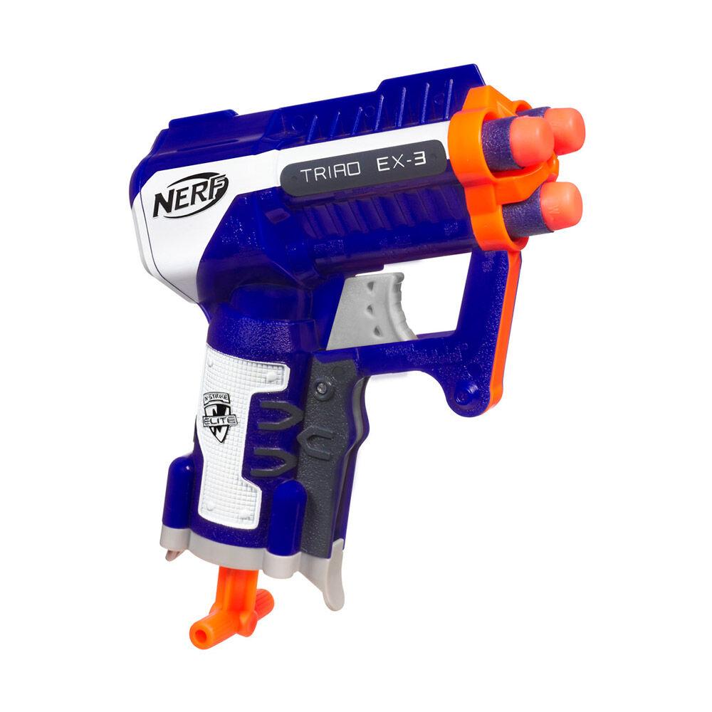 Pistola Hasbro Nerf Triad Ex-3