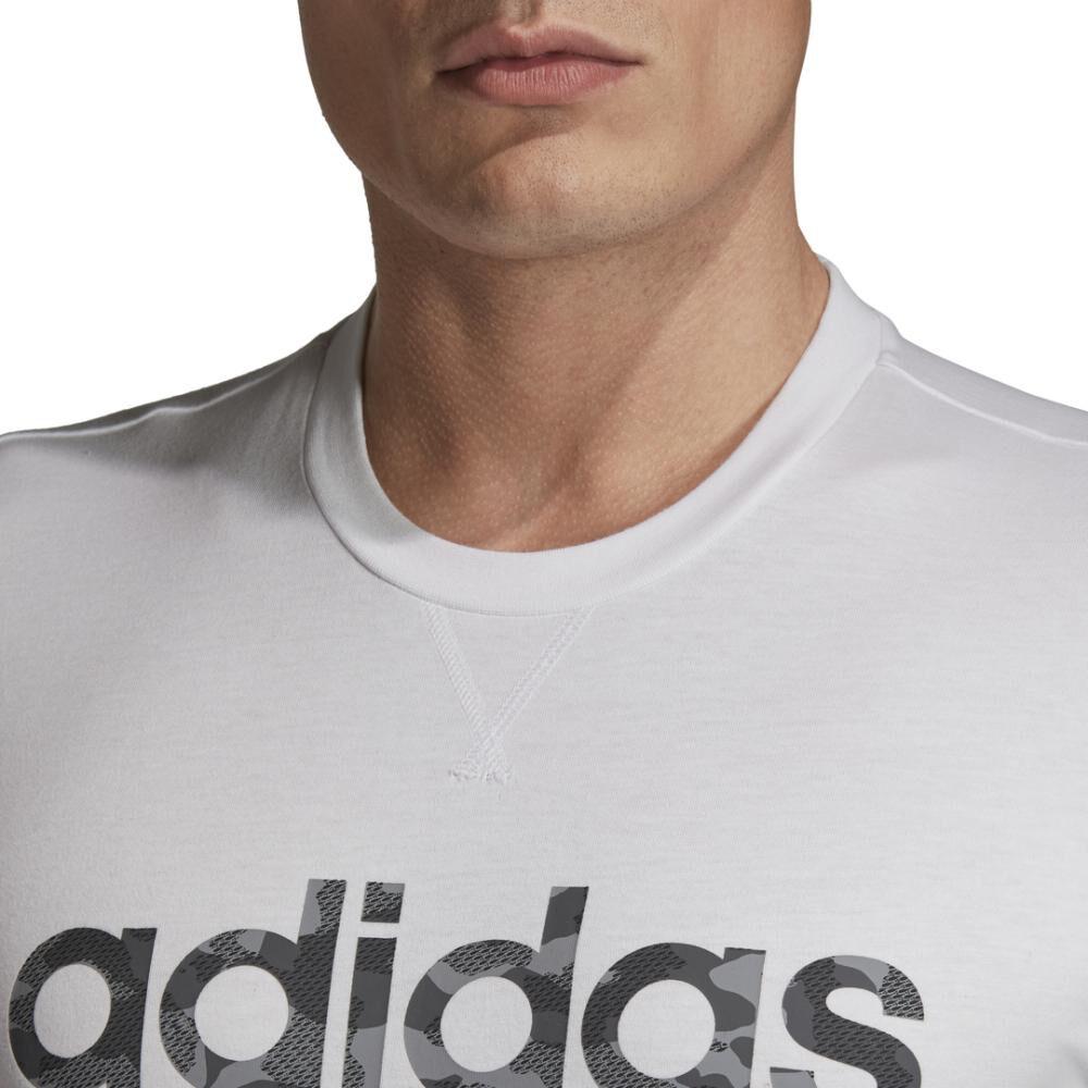 Camiseta Camo Linear Hombre Adidas image number 4.0