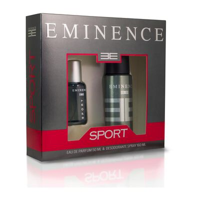 Estuche Sport Eminence / 50 Ml / Edp + Desodorante Spray / 160ml