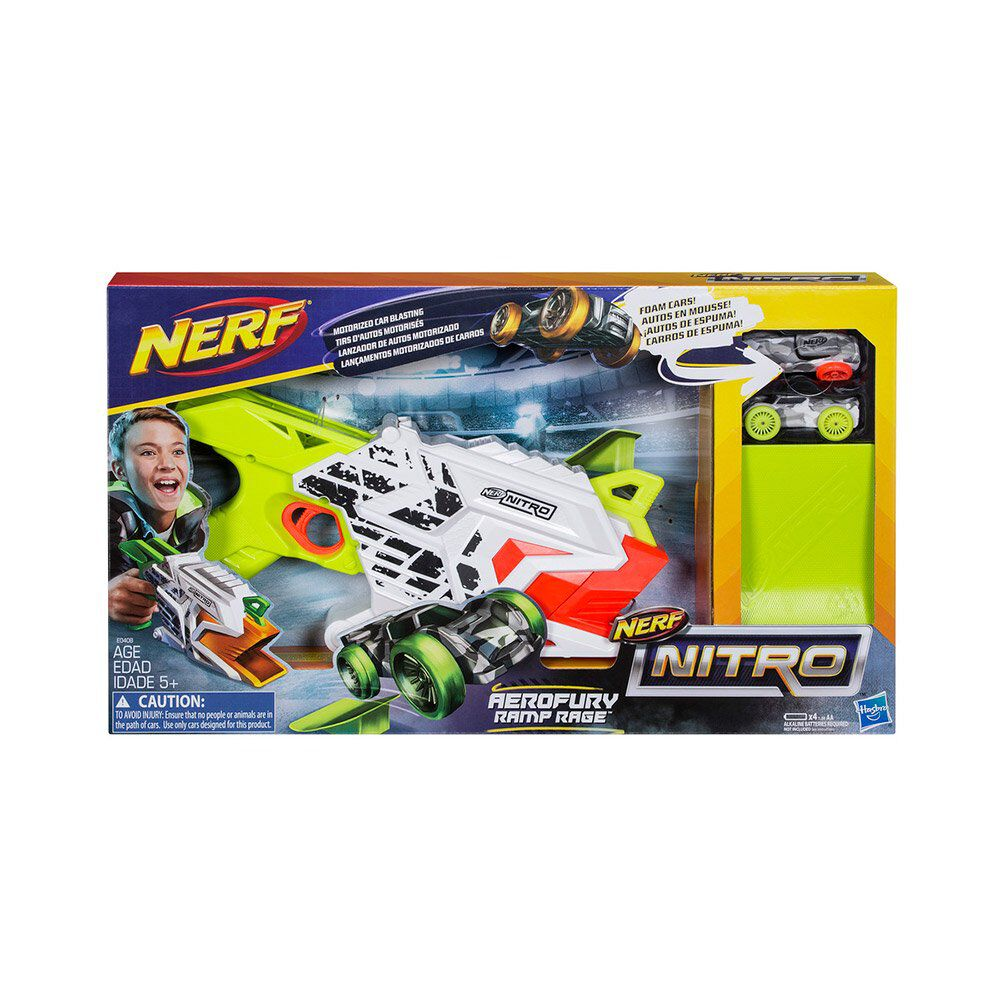 Pistola De Juguete Hasbro Nerf Nitro Aerofury Ramp Rage image number 1.0