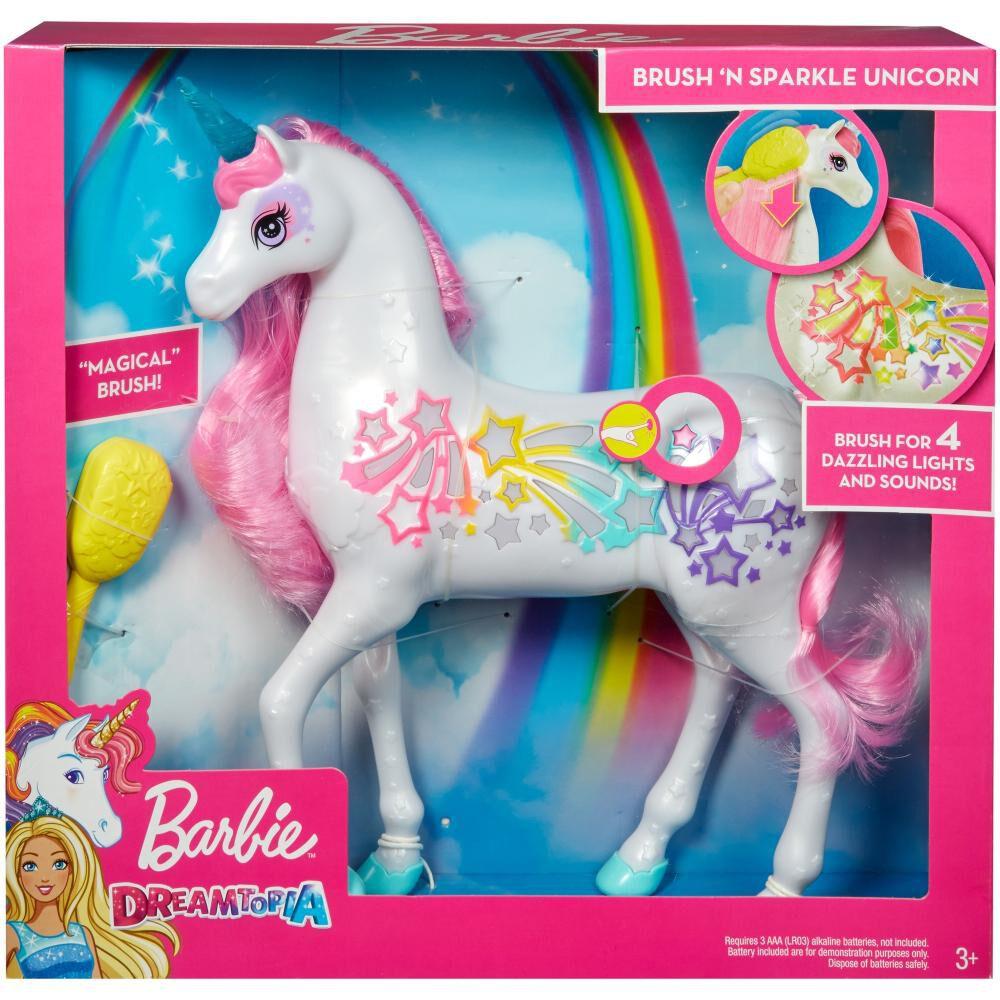 Barbie Dreamtopia Muñeca Unicornio Brillante image number 2.0