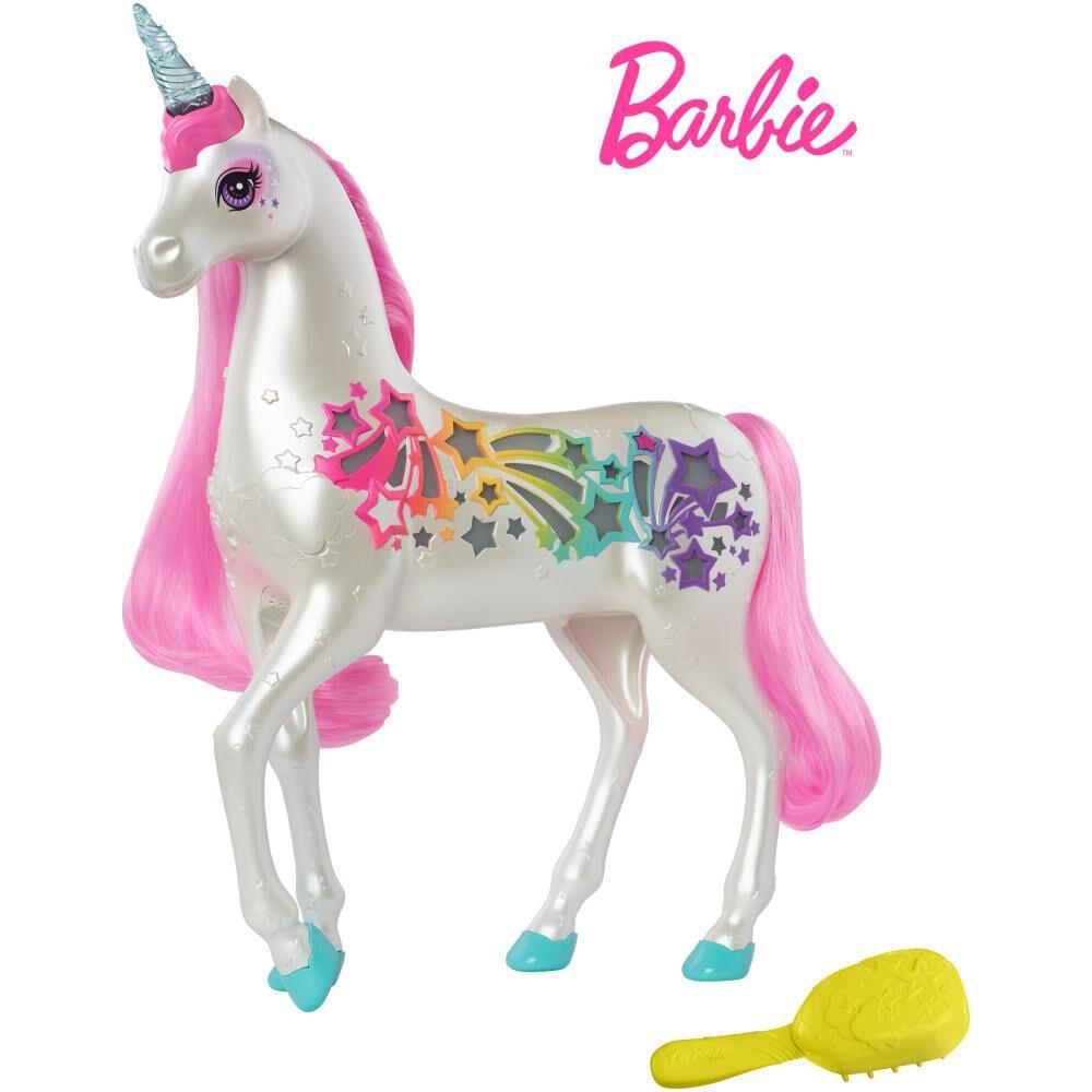 Barbie Dreamtopia Muñeca Unicornio Brillante image number 0.0