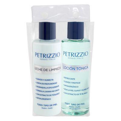 Set De Tratamiento Petrizzio Leche + Loción