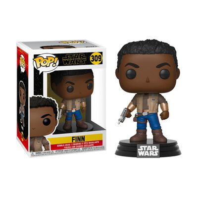 Figura De Acción Funko Pop Star Wars / Star Wars The Rise Of Skywalker / Finn