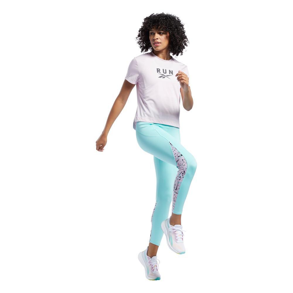 Polera Mujer Reebok Workout Ready Run Speedwick Graphic Tee image number 4.0