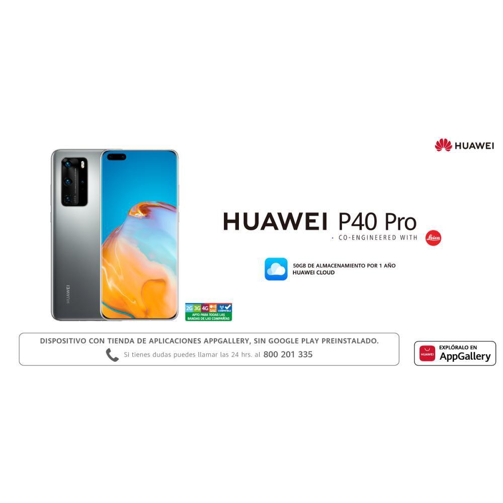 Smartphone Huawei P40 Pro  Silver  /  256 Gb   /  Liberado image number 8.0