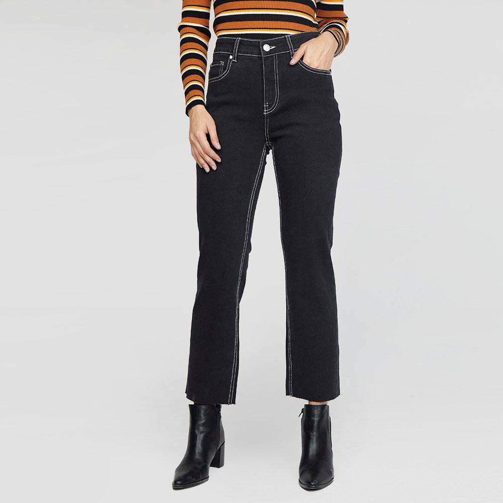 Jeans Mujer Tiro Medio Recto Kimera image number 0.0