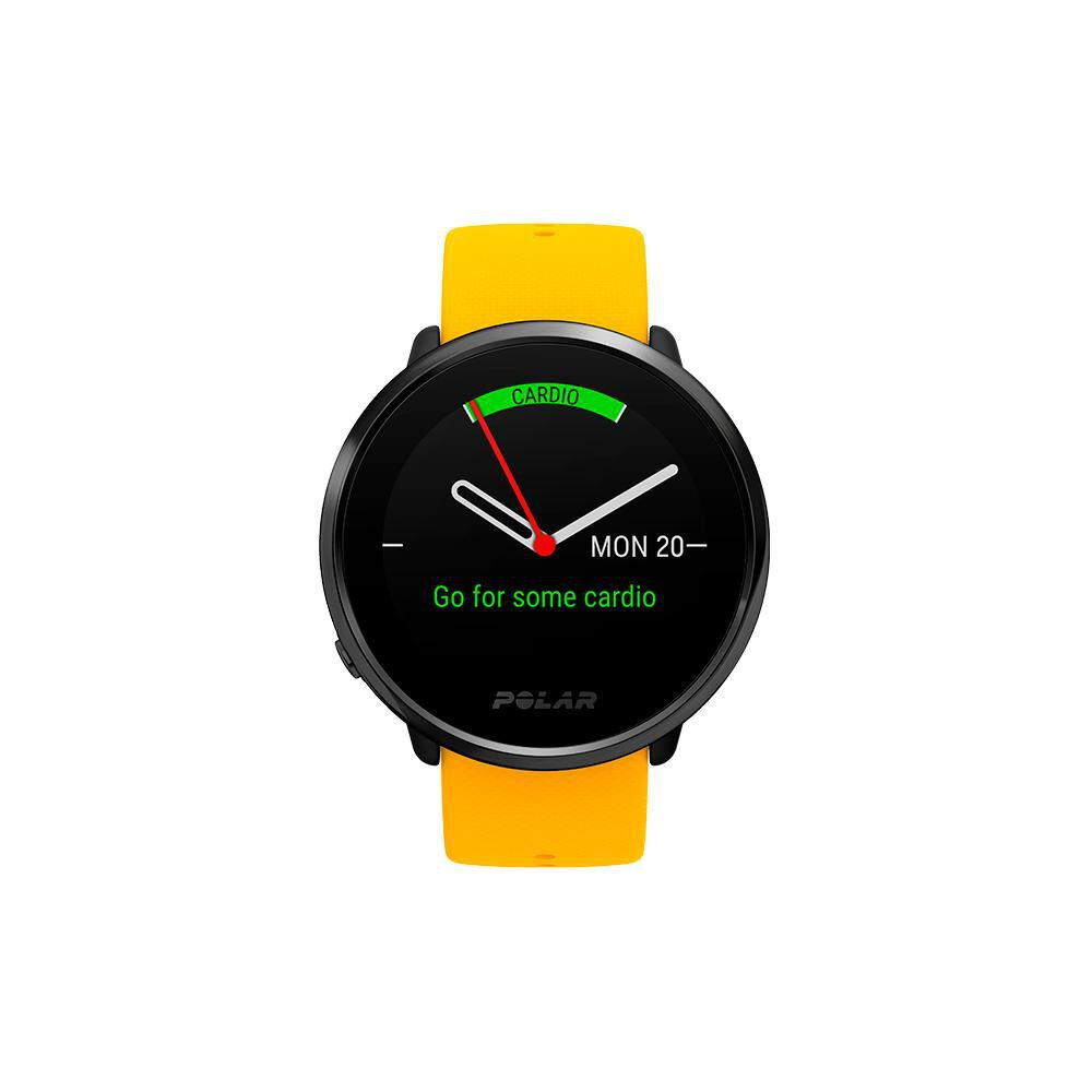 Smartwatch Polar Ignite   Negro / Amarillo image number 1.0