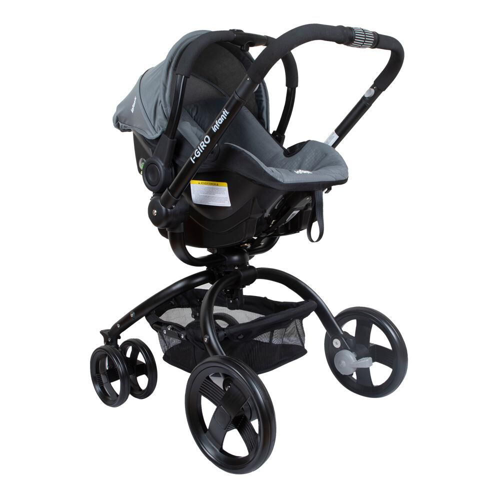 Coche Travel System Infanti I-giro Bright Grey image number 1.0