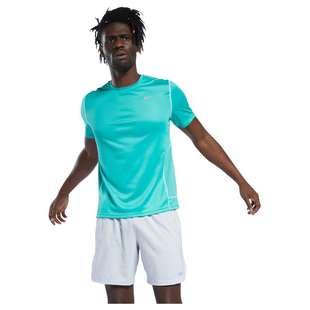 Polera Hombre Reebok Run Essentials Speedwick Short Sleeve Tee image number 1.0