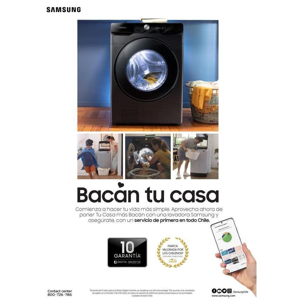 Lavadora Samsung WA13T5260BY/ZS 13 Kilos image number 5.0