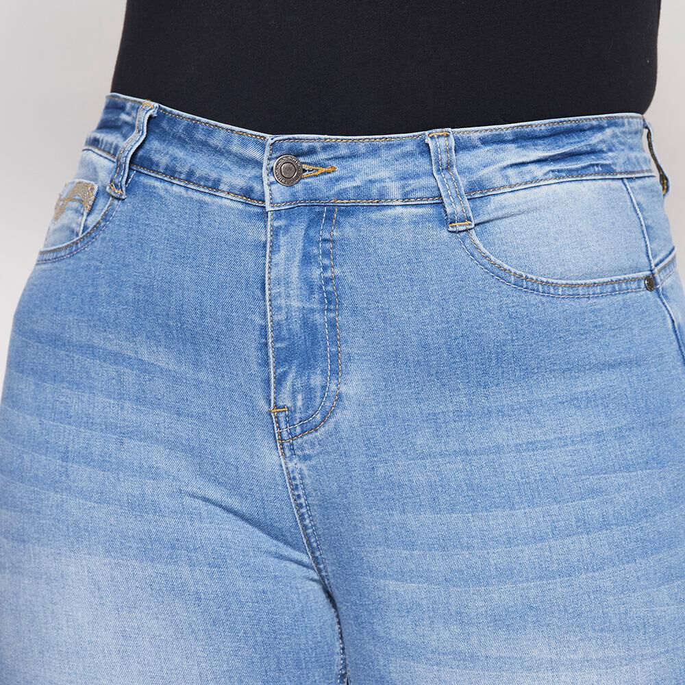Jeans Mujer Tiro Alto Skinny Push Up Sexy Large image number 3.0
