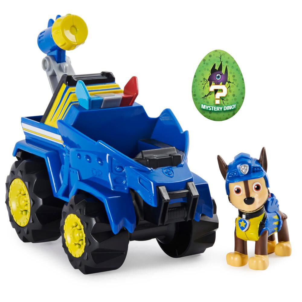 Figura Paw Patrol Chase Vehículo image number 0.0