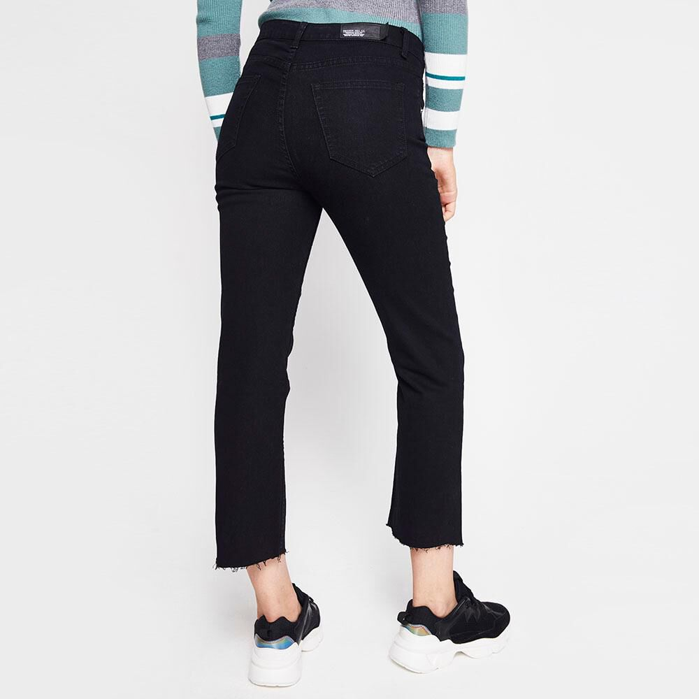 Jeans Mujer Tiro Alto Recto Freedom image number 2.0