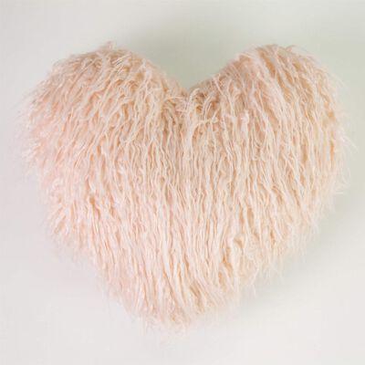 Cojín Casaideal Corazon Fur