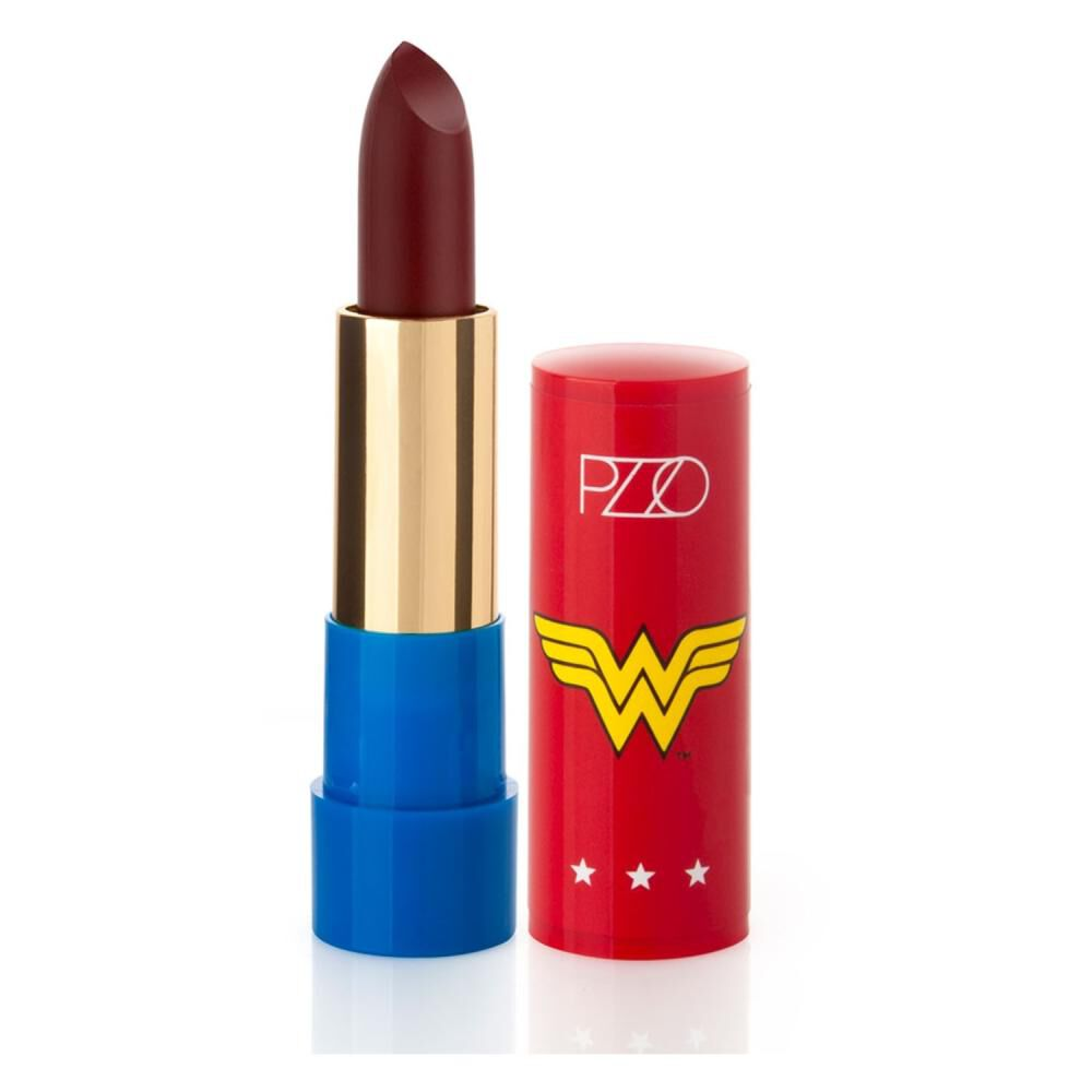 Labial Darkred Matte 3,5 Gr Wonder Woman image number 1.0