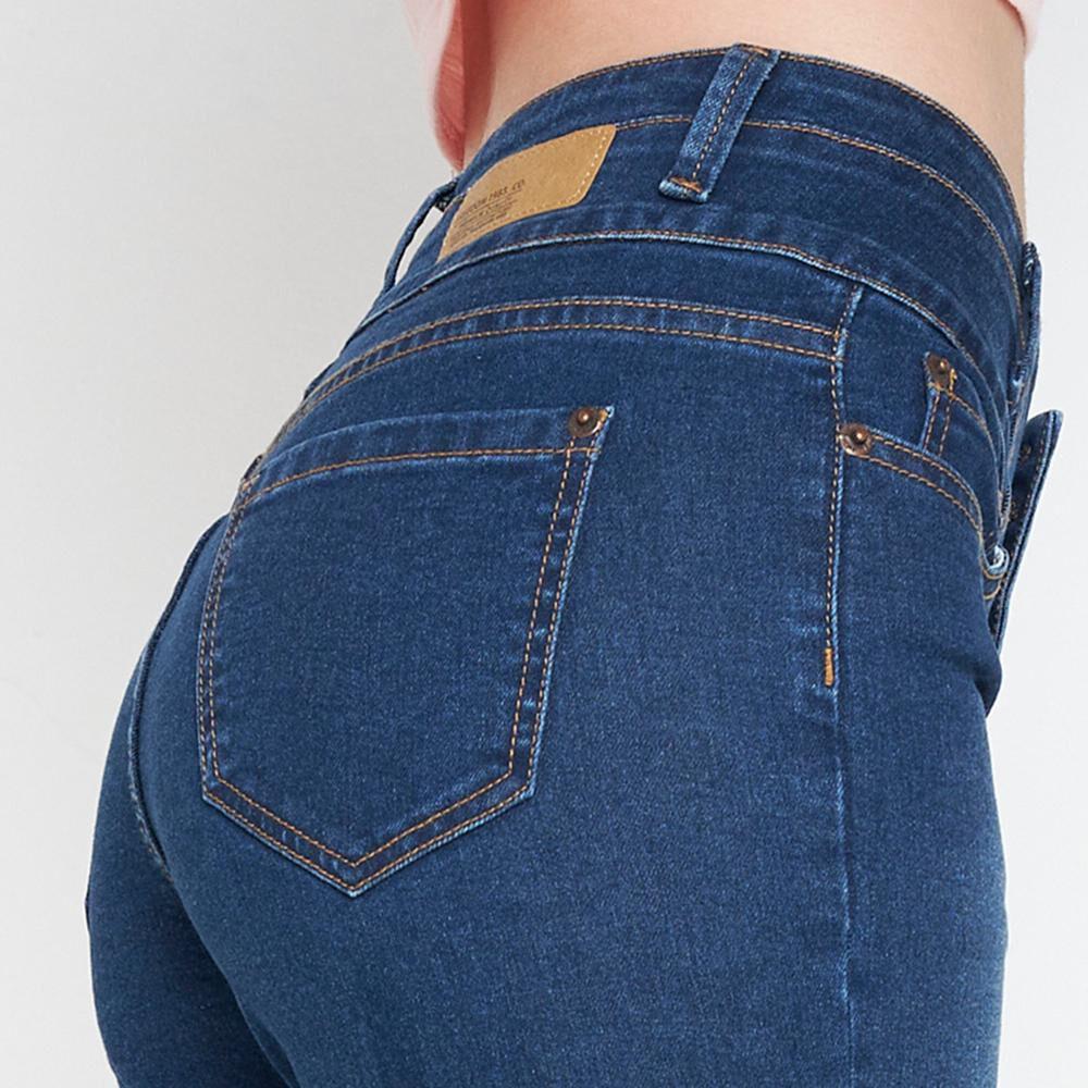 Jeans Mujer Tiro Alto Super Skinny Freedom image number 4.0
