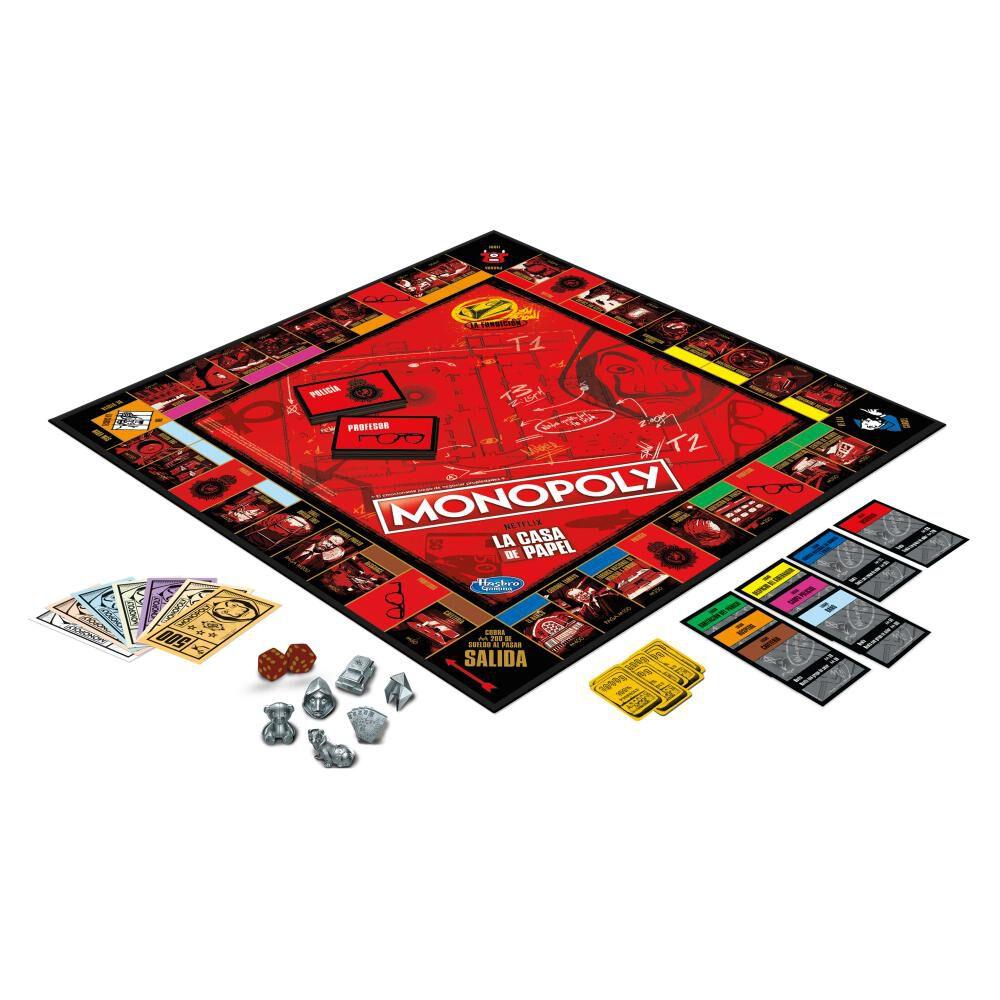 Juego De Mesa Monopoly La Casa De Papel image number 2.0