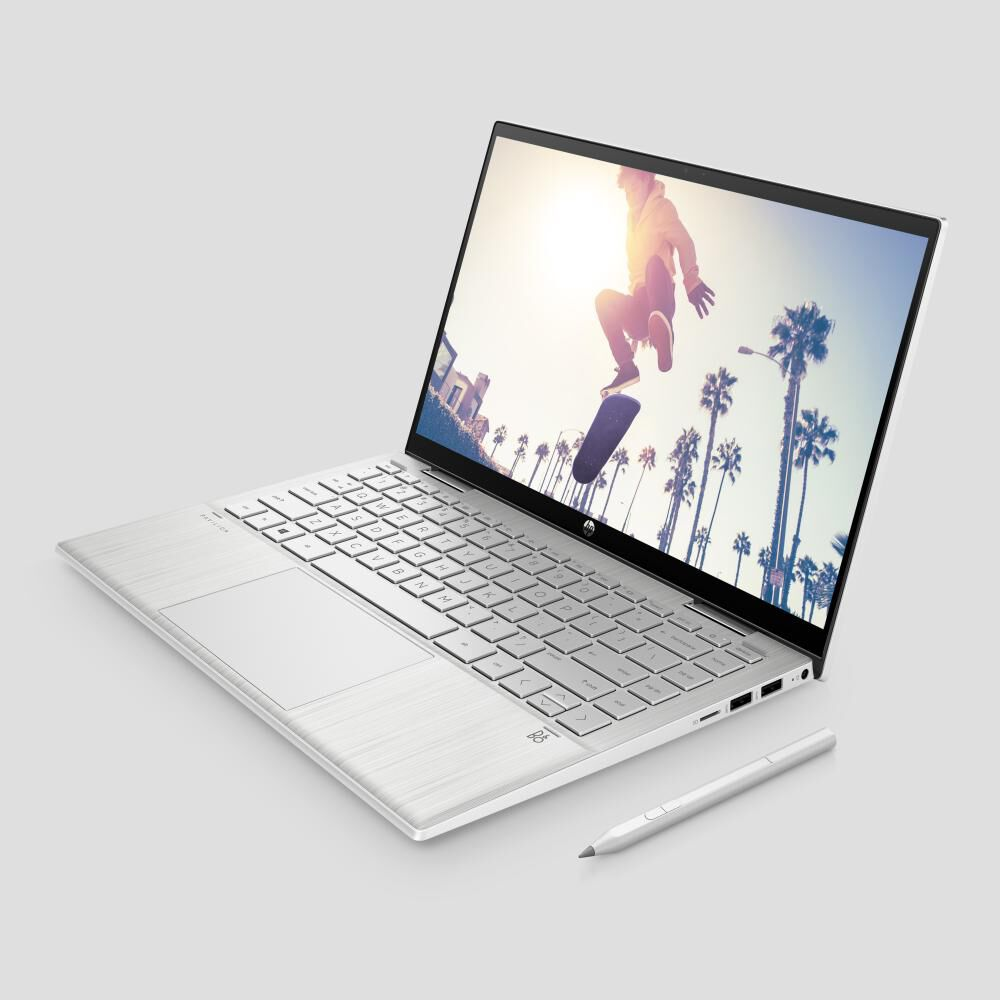 "Notebook Hp Pavilion X360 Convertible 14-dy0002la / Plateado Natural / Intel Pentium / 4 Gb Ram / Intel Uhd / 256 Gb Ssd / 14 "" image number 2.0"