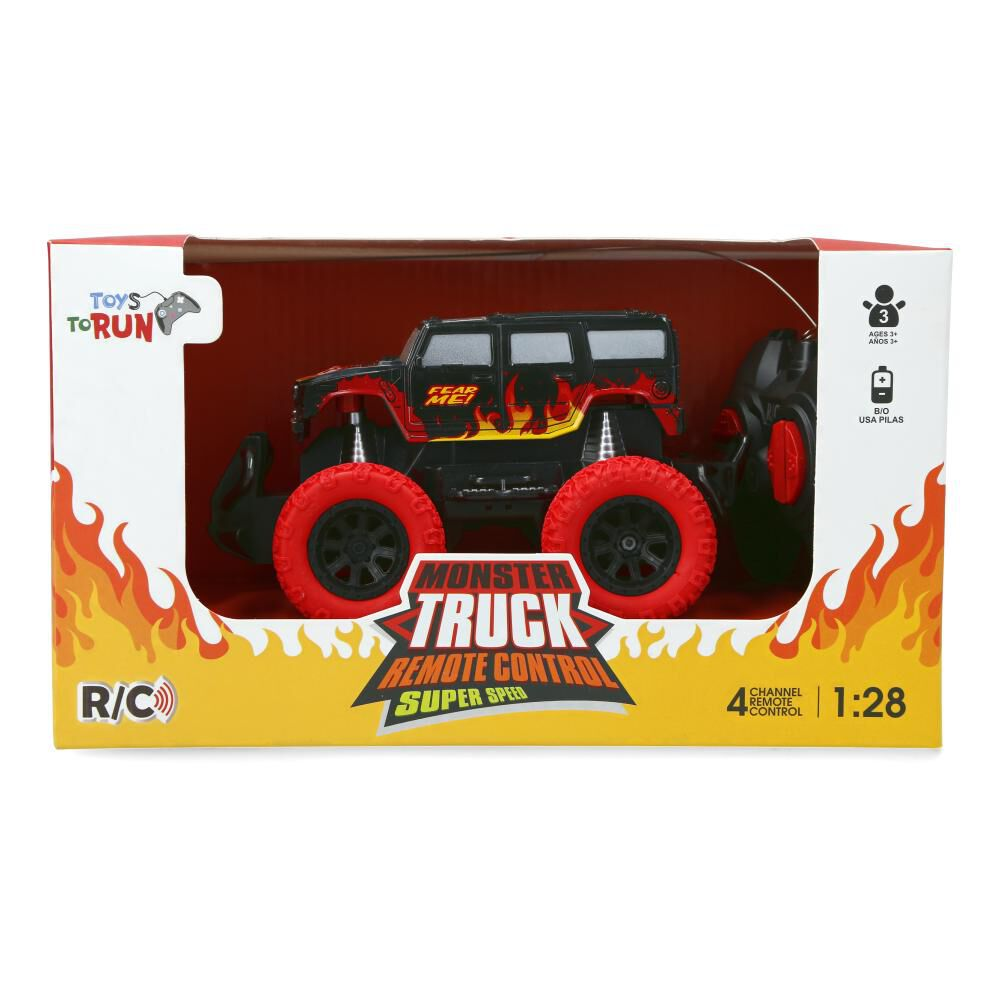 Auto Radiocontrolado Xl Hitoys Monster Truck image number 1.0