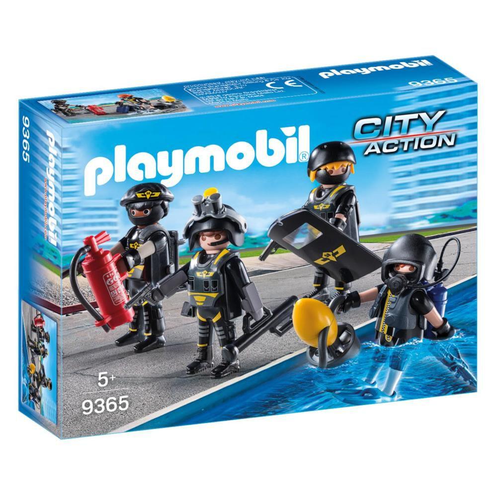 Figura De Acción Playmobil Equipo De Las Fuerzas Especiales image number 0.0