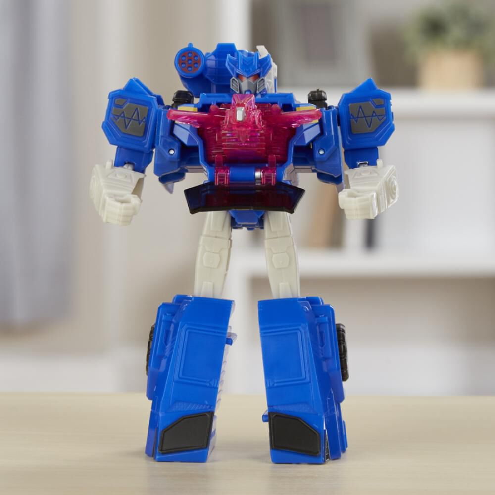 Figura De Accion Transformers Cyberverse Warrior Soundwave image number 4.0